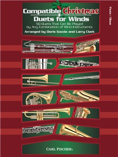 Compatible Christmas Duets For Winds: Flute/Oboe Books | Oboe, Flute
