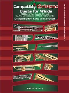 Compatible Christmas Duets For Winds: Alto Saxophone/Baritone Saxophone In Eb Books | Alto Saxophone, Baritone Saxophone