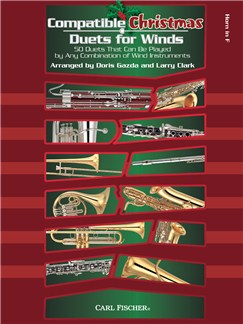 Compatible Christmas Duets For Winds: French Horn Books | French Horn