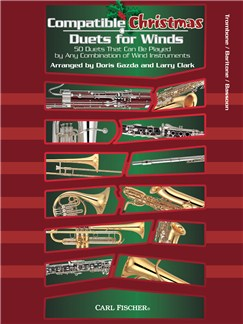 Compatible Christmas Duets For Winds: Trombone/Baritone/Bassoon Books | Trombone, Baritone, Bassoon