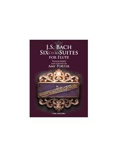 J.S. Bach: Six Cello Suites For Flute Books | Flute