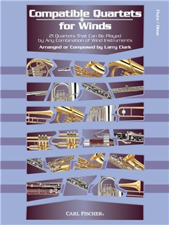 Compatible Quartets For Winds (Flute/Oboe) Books | Flute, Oboe