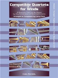 Compatible Quartets For Winds (Clarinet/Trumpet) Books | Clarinet, Trumpet