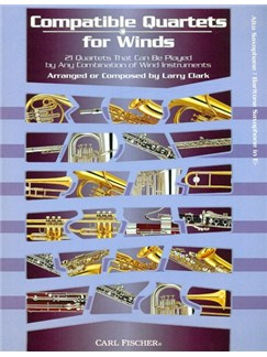 Compatible Quartets For Winds (Alto Saxophone) Books | Alto Saxophone