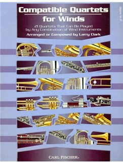 Compatible Quartets For Winds (Horn) Books | French Horn