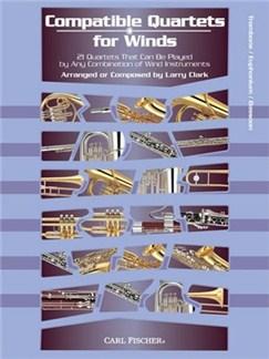 Compatible Quartets For Winds (Trombone) Books | Trombone