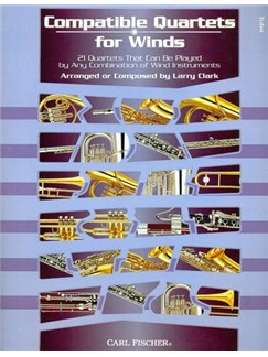 Compatible Quartets For Winds (Tuba) Books | Tuba