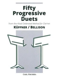 Küffner/Bellison: Fifty Progressive Duets Books | Clarinet (Duet)