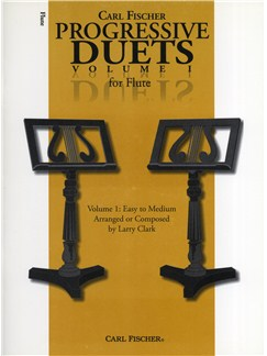 Carl Fischer Progressive Duets Volume 1 - Flute Books | Flute