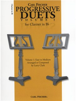 Carl Fischer Progressive Duets Volume 1 - Clarinet Books | Clarinet