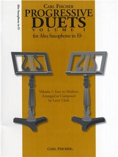 Carl Fischer Progressive Duets Volume 1 - Alto Saxophone Books | Alto Saxophone