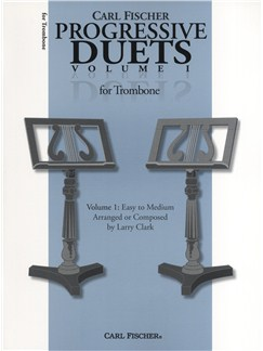 Carl Fischer Progressive Duets Volume 1 - Trombone Books | Trombone