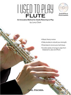 I Used to Play Flute Books and CDs | Flute