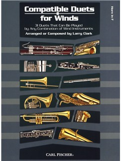 Larry Clark: Compatible Duets For Winds - Horn In F Books | French Horn