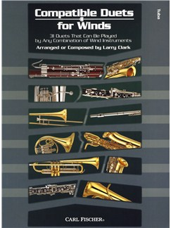 Larry Clark: Compatible Duets For Winds - Tuba Books | Tuba
