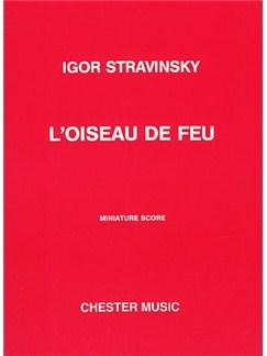 Igor Stravinsky: L'Oiseau De Feu (The Firebird) - Miniature Score Books | Orchestra
