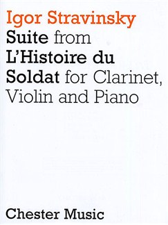 Igor Stravinsky: L'Histoire Du Soldat Books | Clarinet, Violin, Piano