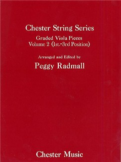 Peggy Radmall: Chester String Series Viola Book 2 (Viola/Piano) Books | Viola, Piano Accompaniment