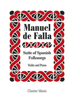 De Falla: Suite Populaire Espagnole Books | Violin, Piano Accompaniment