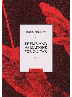 Lennox Berkeley: Theme And Variations Op.77 (Guitar) Books | Guitar