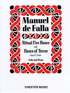 Manuel De Falla: Dance Of Terror And Ritual Fire Dance (El Amor Brujo) - Cello/Piano Books | Cello, Piano Accompaniment
