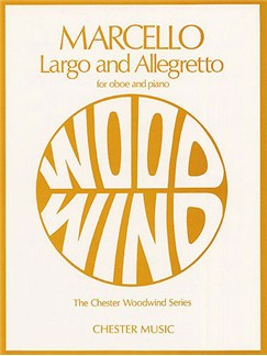 Benedetto Marcello: Largo and Allegretto For Oboe And Piano Books | Oboe, Piano Accompaniment