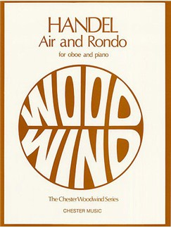 G.F. Handel: Air And Rondo For Oboe And Piano Books | Oboe, Piano Accompaniment
