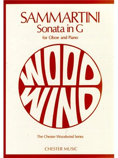 Giovanni Sammartini: Sonata In G  For Oboe And Piano Books | Oboe, Piano Accompaniment
