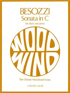 Alessandro Besozzi: Sonata In C For Oboe And Piano Books | Oboe, Piano Accompaniment
