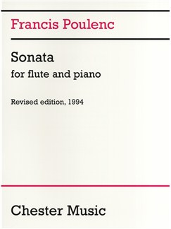 Francis Poulenc: Sonata For Flute And Piano Books | Flute, Piano Accompaniment