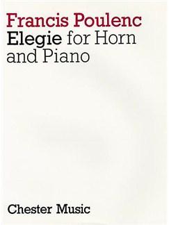 Francis Poulenc: Elegie Books | Horn, Piano