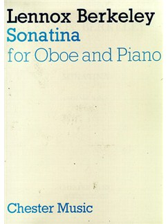 Lenoox Berkeley: Sonatina For Oboe And Piano Books | Oboe, Piano Accompaniment