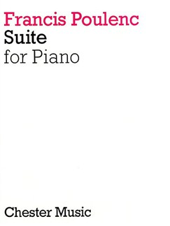 Francis Poulenc: Suite For Piano Books | Piano