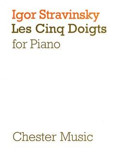 Igor Stravinsky: Les Cinq Doigts Books | Piano