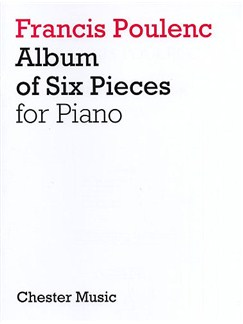 Album of Six Pieces for Piano Books | Piano
