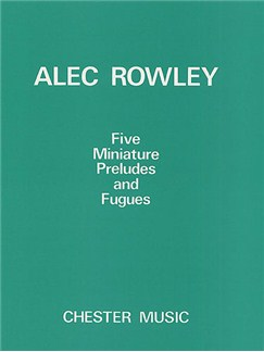 Five Miniature Preludes and Fugues Books | Piano