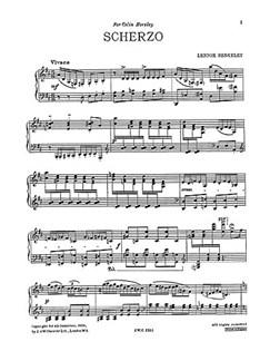 Lennox Berkeley: Scherzo Op.32 No.2 Books | Piano