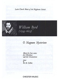 William Byrd: O Magnum Mysterium Books | Soprano, Alto, Tenor, Bass