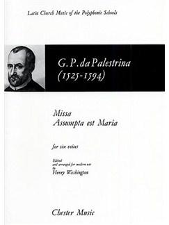 Palestrina: Missa Assumpta Est Maria (Washington) Books | 2 Soprano, Alto, 2 Tenor, Bass