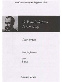Giovanni Palestrina: Sicut Cervus (Steele) Buch | SATB (Gemischter Chor)