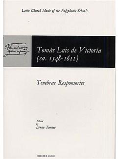 Tomas Luis De Victoria: Tenebrae Responsories Libro | SATB