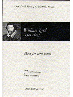 William Byrd: Mass For Three Voices (1961 Edition) Books | Alto, Tenor, Bass