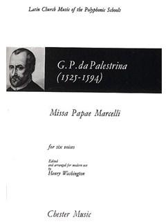 Giovanni Palestrina: Missa Papae Marcelli Books | Soprano, Alto, 2 Tenor, 2 Bass