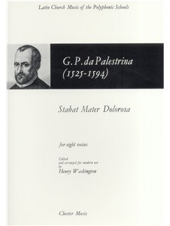 Giovanni Palestrina: Stabat Mater Dolorosa Books | Double SATB Choir