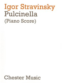Igor Stravinsky: Pulcinella (Piano/Vocal Score) Books | Piano, Voices