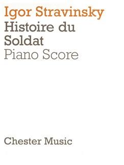 Igor Stravinsky: L'Histoire Du Soldat Books | Piano