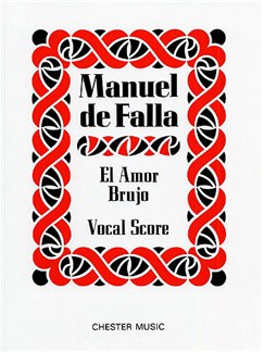 Manuel De Falla: El Amor Brujo Libro | Voz, Acompañamiento de Piano