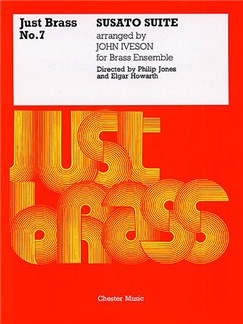 Tylman Susato: Suite (Just Brass No.7) Books | Brass Band