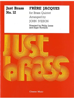 Frere Jacques For Brass Quintet (Just Brass No.12) Books | Brass Quintet