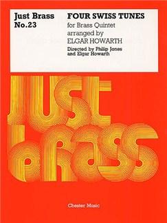 Four Swiss Tunes (Just Brass No.23) Books | Brass Quintet